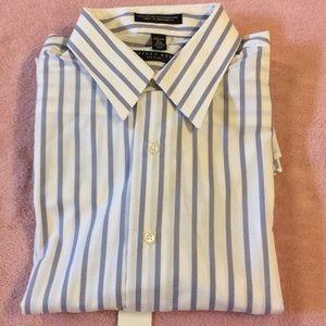 Geoffrey Beene Long Sleeve Dress Shirt 15.5 34-35